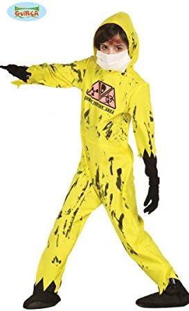 Disfraz de Mono contra Epidemia Nuclear para niños. - 7-9 años ...