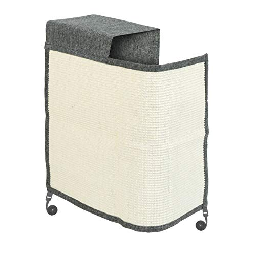 🥇 Navaris rascador para Gatos – Protector para Esquina de sofá o sillón – Afilador de uñas de sisal para Mascotas – para el Lado Derecho del Mueble