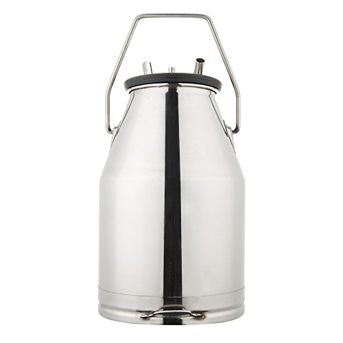 CO-Z Portable Bucket Milker Milking Machine for Cows 25L 304 Stainless Steel by CO-Z (Image #1)