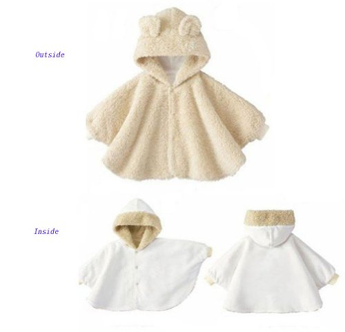 Cute Baby Clothes Cloak Hoodie Bunny Cape Baby