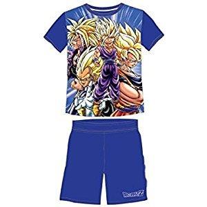 pijama infantil goku- dragon ball z talla 10