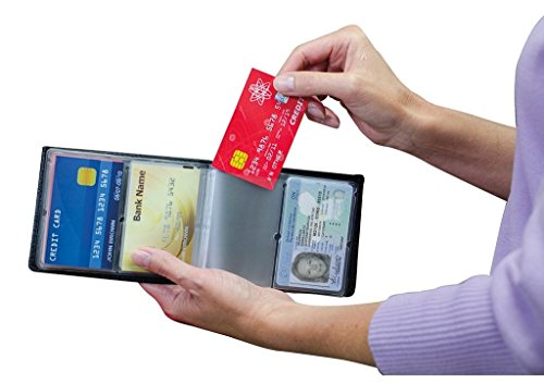 Wonder Wallet - Amazing Slim RFID Wallet for Men and Women AS Seen On TV + Wonder Wallet insert