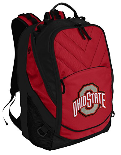 OSU Buckeyes Backpack Red Ohio State University Laptop Computer Bags - Ohio State Backpack
