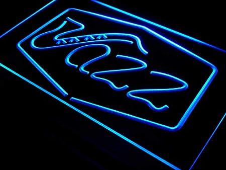 Cartel Luminoso ADV PRO i468-b Jazz Bar Music Live Pub Club ...