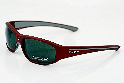Amazon.com: New+Case 280$ Vuarnet 130 3130 Red Sunglasses ...