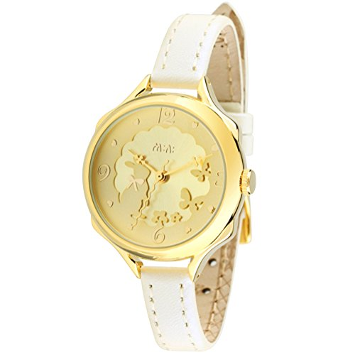 Cute Bowknot Bunny Girl's Teenagers' Wrist Watches,Butterfly Dial,White