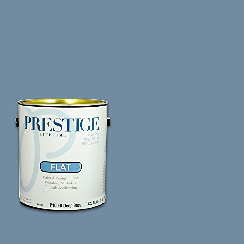 Prestige, Blues and Purples 5 of 8, Interior Paint and Primer In One, 1-Gallon, Flat, Tally Ho