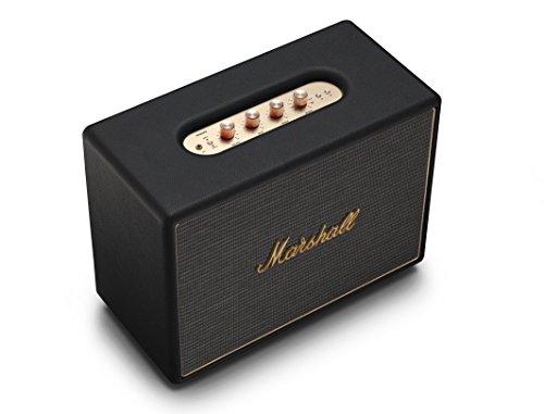 Marshall Woburn Multi-Room Wi-Fi and Bluetooth Speaker, Black (04091921)