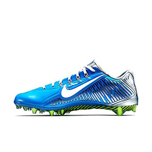 Nike Vapor Carbon Elite TD Herren Fußballschuh Blaues Silber