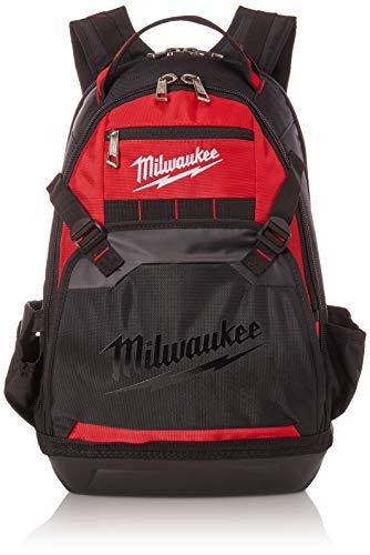 Milwaukee 48-22-8200 1680 Denier 35 Pocket Jobsite Backpack w/ Laptop Sleeve and Molded Plastic Base