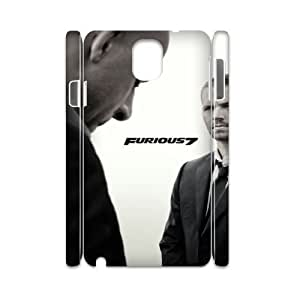 Furious 7 YT0014229 3D Art Print Design Phone Back Case Customized Hard Shell Protection Samsung galaxy note 3 N9000