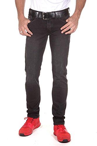BRIGHT JEANS Jeans slim fit (schwarz)