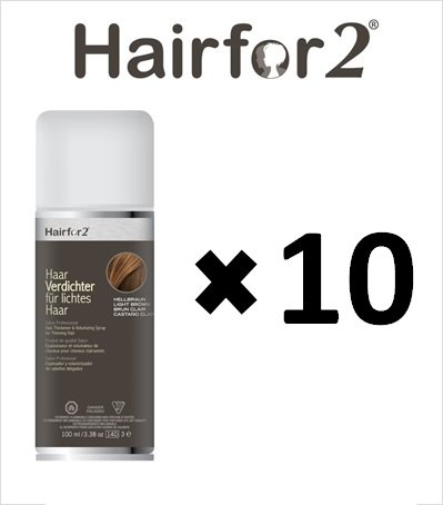 10 x hairfor2 pelo crecepelo Spray 100 ml