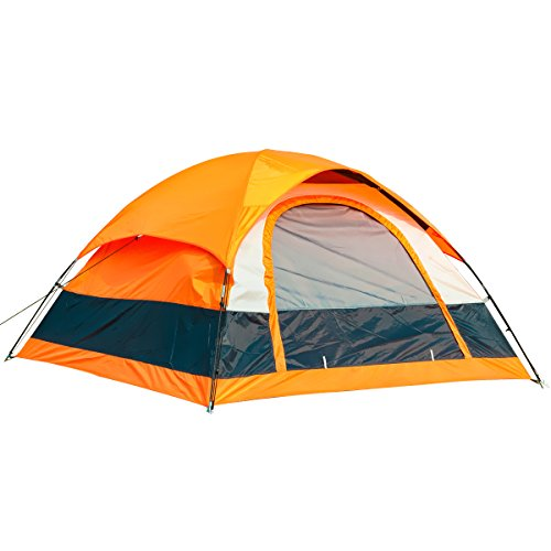 SEMOO 2-3 Person Dome Tent Water Resistant Lightweight for Camping 1 Door, 3-Season with Carry Bag ()