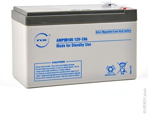 Batterie plomb AGM 12V-7Ah Standby use 12V 7Ah T1 NX Unit/é s