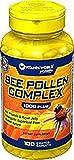 Vitamin World Bee Pollen Complex 1,000 mg. 100 caplets