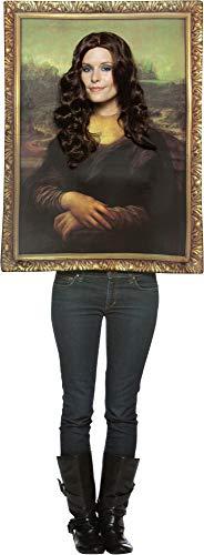 Mona Lisa Frame Adult Costumes - Rasta Imposta Mona Lisa