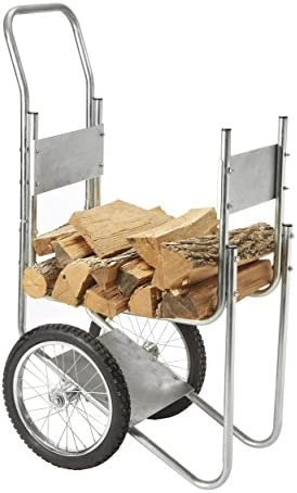 Sporty s Rolling Wood Log Cart