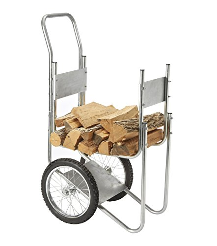 Rolling Wood Log Cart by Sporty's