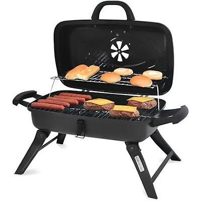 Charcoal Grill Portable BBQ Backyard Outdoor Camping Grilling Barbeque Smoker