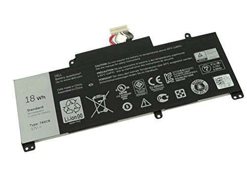 ZTHY 3.7V 18WH Laptop Battery 74XCR For Dell Venue 8 Pro (5830) T01D Windows VXGP6 X1M2Y Tablet 074xcr at Electronic-Readers.com