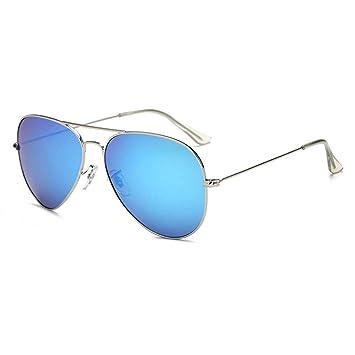 WANG LIQING Gafas de Sol Tipo Aviador de Gran tamaño y ...