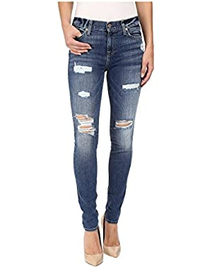 7 For All Mankind Women's The Skinny w/ Destroy in