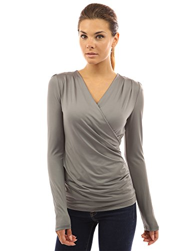 PattyBoutik Womens Sleeve Pullover Blouse