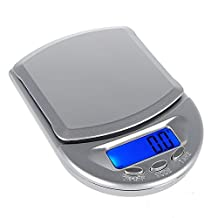 Digital Pocket Scale - SODIAL (R) 500g / 0.1g Digital Pocket Scale kitchen scale household scales accurate scales letter scale