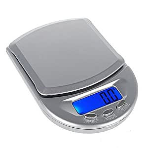 Digital Pocket Scale - TOOGOO (R) 500g / 0.1g Digital Pocket Scale kitchen scale household scales accurate scales letter scale