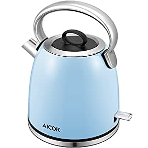 Aicok hervidor el ctrico de agua con 2200w base 360 - Hervidor de agua electrico ...