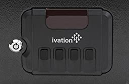 Ivation Electronic Gun Safe w/Mechanical Pop-Open Door – Solid Steel Construction & Hidden Wall/Floor Anchoring Design