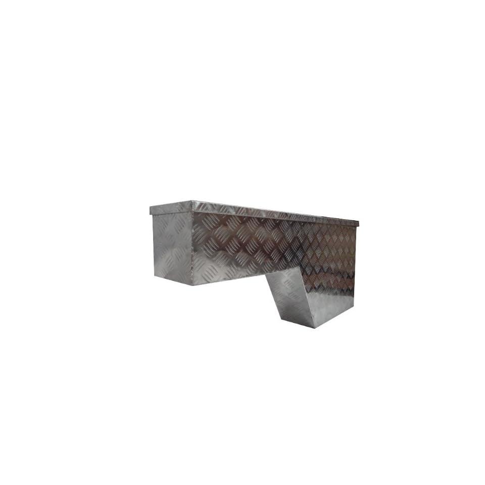 ALUMINUM TRUCK TOOL BOX PORK CHOP WHEEL WELL 48 x8 x20