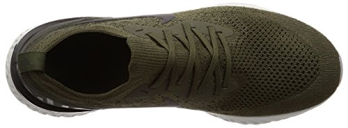 sequoia React Flyknit Men Epic Shoes Cargo 's NIKE Running Black Competition Khaki 6aqPg6