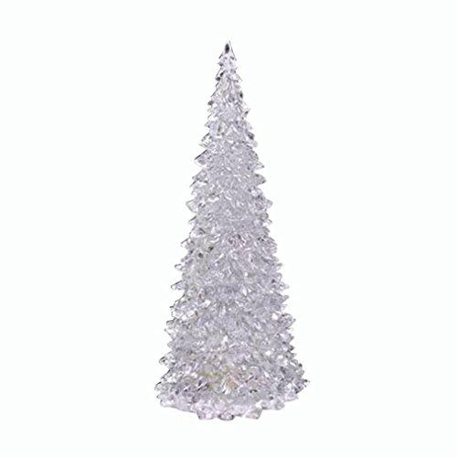 Vanvler Christmas Xmas Tree Color Changing LED Light Lamp Home Party Decoration Wedding (Transpa ...