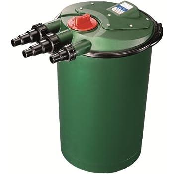 Xtremepowerus 10000 koi pond pressure bio for 100 gallon pond pump filter