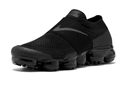 Nike Women Air Vapormax Flyknit Moc Aa4155-004 Zwart En Antraciet
