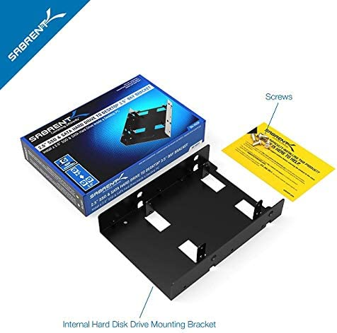 Sabrent Kit de soporte de montaje de disco duro interno Sabrent de ...
