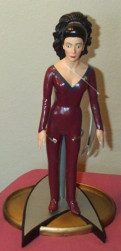 Star Trek the Next Generation Counselor Deanna Troi 10 Action Figure by (Counselor Troi)