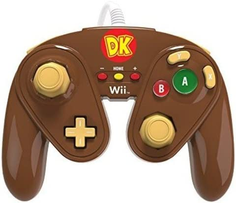 PDP - Mando Fight Pad Con Cable Donkey Kong (Nintendo Wii U ...
