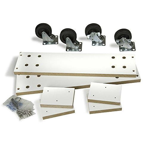 Econoco WDCAS2H24 Optional Caster Kit for 2 Way Slatwall Merchandiser Only by Econoco