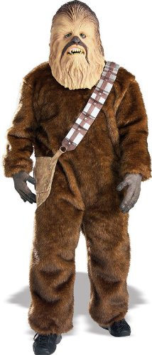 Deluxe Chewbacca Adult Costume - -