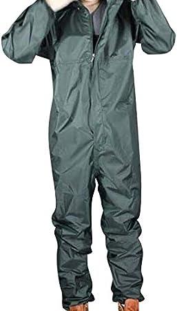 Wivarra Impermeabile per Motociclista di Moda//Impermeabile Congiunto//Tuta Uomo e Donna Tuta Antipioggia Cappotto Antipioggia Taglia M Colore Verde