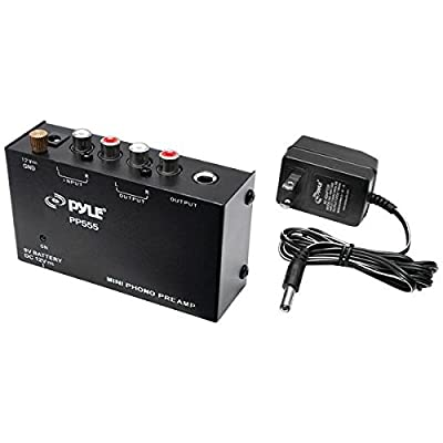 Pyle Pro(r) Pp555 Ultra-Compact Phono Turntable Preamp by PYLE PRO