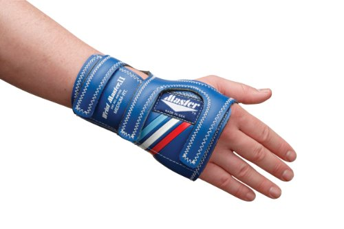 Master Industries Wrist Master II Bowling Gloves, Medium, Right Hand