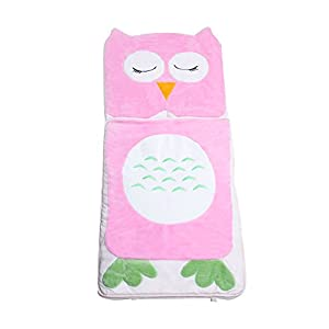 Asweets Owl Furry Toddler Kids Sleeping Bag