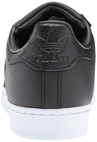 Adidas Originals Mens Superstar Foundation Tillfälliga Gymnastiksko Svart / Svart / Svart