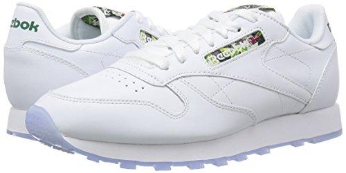 blanc Blanc Homme Course Reebok Pour Glace De Chaussures Sf Leather Cl qqwgzaF