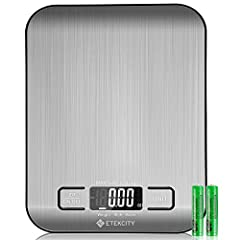 Order Now and Enjoy the Convenience of Our 2-Year Warranty!  This Etekcity digital scale has endless uses for personal or commercial environments - great for homes, kitchens, offices, and more. The scale has an easy-to-read LCD display with beautifu...