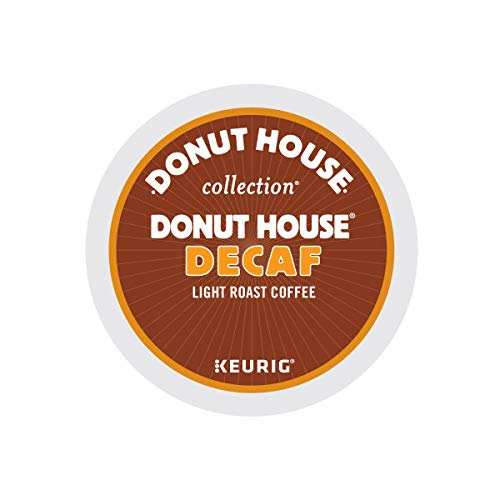 Donut House Collection Light Roast K-Cup for Keurig Brewers, Donut House Decaf Coffee (Pack of 96) from Donut House Collection
